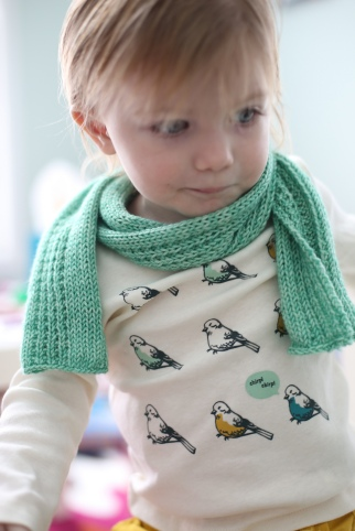 Trellis Toddler Scarf Nice And Knit